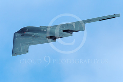 B-2 00220 A flying Northrop B-2 Spirit USAF stealth jet bomber military airplane picture by Peter J Mancus