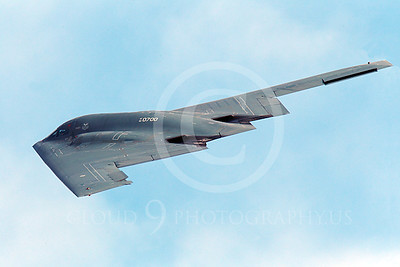 B-2 00228 A flying Northrop B-2 Spirit USAF stealth jet bomber military airplane picture by Peter J Mancus