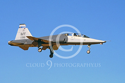 T-38USAF 00004 Northrop T-38 Talon USAF by Peter J Mancus