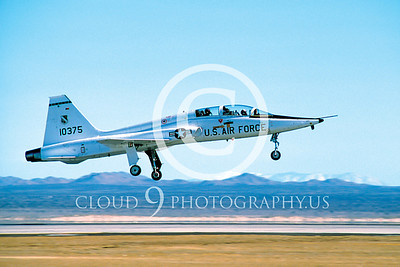 T-38USAF 00002 Northrop T-38 Talon USAF Edwards AFB by Peter J Mancus