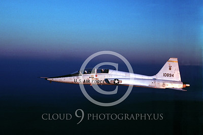 T-38USAF 00012 Northrop T-38 Talon USAF Dec 1976 by George Blair
