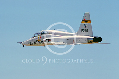 T-38USAF 00006 Northrop T-38A Talon USAF Oct 1984 by Peter B Lewis