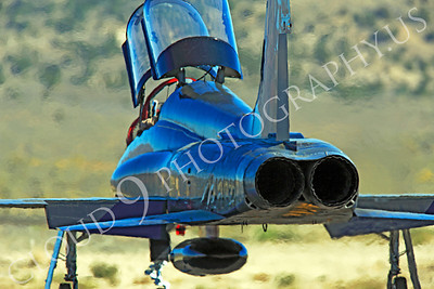 T-38USAF 00061 Northrop T-38 Talon USAF 64301 jet trainer by Peter J Mancus