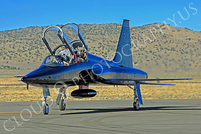 T-38USAF 00013 Northrop T-38 Talon USAF 64301 jet trainer by Peter J Mancus