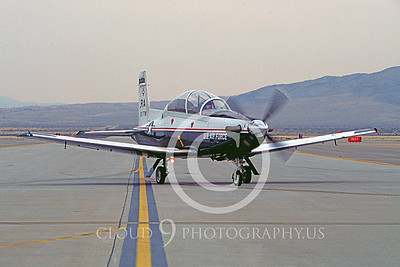 T-6 II 00023 Ratheon T-6A Texan II USAF Nov 2003 Nellis AFB by Peter J Mancus