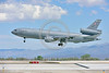 KC-10USAF 00001 A Douglas KC-10 EXTENDER USAF 30080 from Travis AFB jet aerial refueler and cargo transport aircraft lands at NAS Fallon 4-2016 military airplane picture by Peter J  Mancus