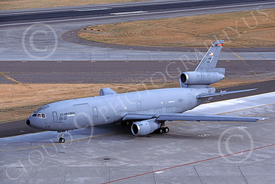 KC-10USAF 00034 A taxing McDonnell Douglas KC-10 Extender USAF 70119 Travis AFB 6-1997 military airplane picture by Carl E Porter