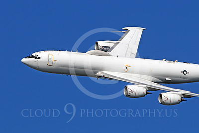 E-6 00014 A US Navy Boeing E-6 Mercury in flight at a US Naval Centennial airshow, by Peter J Mancus