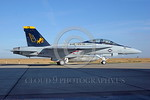 F-18F-USN-VFA-32  0001 A taxing Boeing F-18F Super Hornet USN jet fighter 16661 VFA-32 FIGHTING SWORDSMEN AG code NAS Lemore 10-2005 military airplane picture by Michael Grove, Sr      DONEw ...