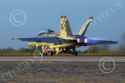 Boeing F-18F-USN 00295 A Boeing F-18F Super Hornet USN 166842 VFA-41 BLACK ACES CAG NG code commanding officer's airplane USS John C Stennis takes-off in afterburner at NAS Fallon 1-2015 military airplane picture by Peter J Mancus