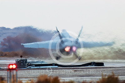 AB-F-18USN-S 00022 A Boeing F-18E Super Hornet USN takes-off in afterburner NAS Fallon 11-2013 military airplane picture by Peter J Mancus