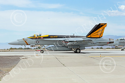 Boeing F-18E-USN 00008 A Boeing F-18E Super Hornet jet fighter USN 168471 VFA-151 Vigilantes USS John C Stennis on runway for take-off at NAS Fallon 7-2014 military airplane picture by Peter J Mancus