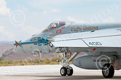 Boeing F-18E-USN 00012 A Boeing F-18E Super Hornet jet fighter USN VFA-192 Golden Dragons taxis at NAS Fallon 7-2014 military airplane picture by Peter J Mancus