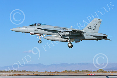 Boeing F-18E-USN 00016 A Boeing F-18E Super Hornet USN VFA-31 TOMCATTERS USS George H W Bush AJ code lands at NAS Fallon 10-2013 military airplane picture by Peter J Mancus