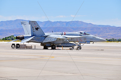 F-18E-USN-VF-131 006 A static Boeing F-18E Super Hornet jet fighter USN 168909 VF-131 WILDCATS CAG USS Dwight Eisenhower AC code at NAS Fallon 7-2019, military airplane picture by Peter J  Mancus     851_7911     Dwt