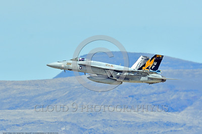 F-18E-USN-VFA-115 0002 A flying Boeing F-18E Super Hornet USN jet fighter 166859 VFA-115 EAGLES commanding officer's airplane USS Ronald Reagan NAS Fallon 3-2017 military airplane picture by Peter J Mancus     DONEwt