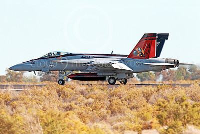 Boeing F-18E-USN 00005 A taxing colorful Boeing F-18E Super Hornet jet fighter US Navy 166776 VFA-31 TOMCATTERS USS George H W Bush AJ code NAS Fallon 10-2013 military airplane picture by Peter J Mancus