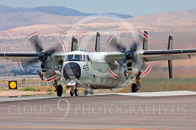 C-2USN 00011 Grumman C-2A Greyhound US Navy VRC-40 Nellis AFB by Peter J Mancus