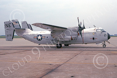 C-2 00073 A static Grumman C-2 Greyhound USN 162176 VRC-30 PROVIDERS Det 2 USS Constellation 8-2003 military airplane picture by Wayne Murray