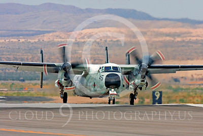 C-2USN 00003 Grumman C-2A Greyhound US Navy Nellis AFB by Peter J Mancus