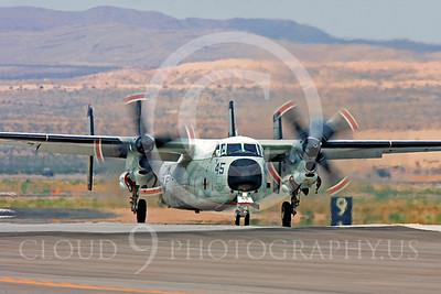 C-2USN 00003 Grumman C-2A Greyhound US Navy Nellis AFB by Peter J Mancus