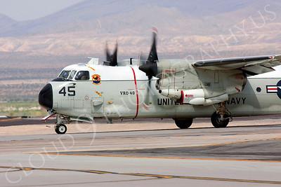 CUNMP 00007 Grumman C-2 Greyhound US Navy VRC-40 Nellis AFB by Peter J Mancus