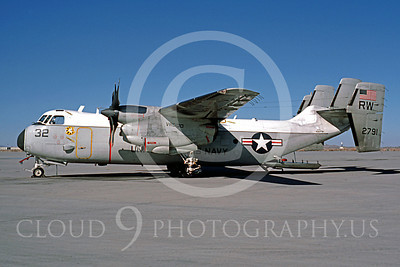 C-2USN 00007 Grumman C-2A Greyhound US Navy 152791 VRG-30 February 1986 by Peter B Lewis
