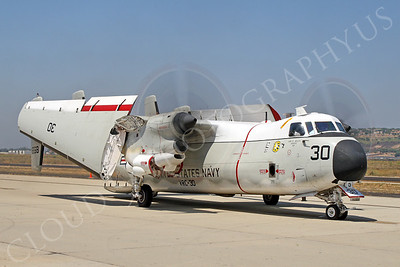 C-2 00001 Grumman C-2A Greyhound USN VRC-30 by Tim Wagenknecht