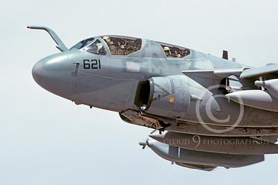 CUNMJ 00222 Grumman EA-6B Prowler US Navy June 1991 by Peter J Mancus
