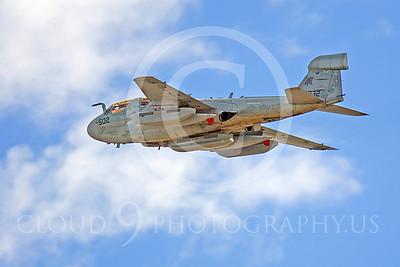 EA-6BUSN 00004 Grumman EA-6B Prowler by Peter J Mancus