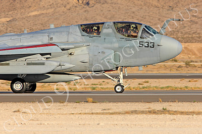 CUNMJ 00177 Grumman EA-6B Prowler US Navy Nellis AFB by Peter J Mancus