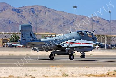 EA-6BUSN 00015 Grumman EA-6B Prowler US Navy 161120 Nellis AFB by Carl E Porter