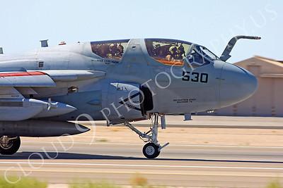 CUNMJ 00161 Grumman EA-6B Prowler US Navy Nellis AFB by Carl E Porter