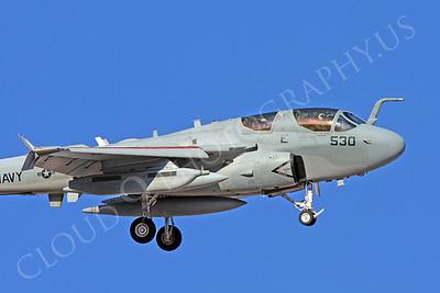 CUNMJ 00142 Grumman EA-6B Prowler US Navy by Carl E Porter