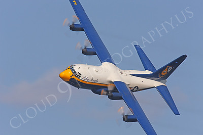 BA - C-130 00026 Lockheed C-130 Hercules USN BLUE ANGELS by Peter J Mancus