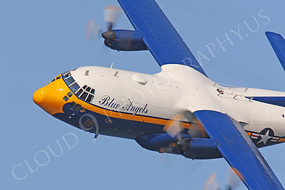CUNMP 00030 Lockheed C-130 Hercules USN BLUE ANGELS by Peter J Mancus