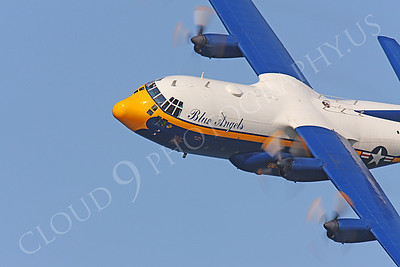CUNMP 00012 Lockheed C-130 Hercules USN BLUE ANGELS by Peter J Mancus