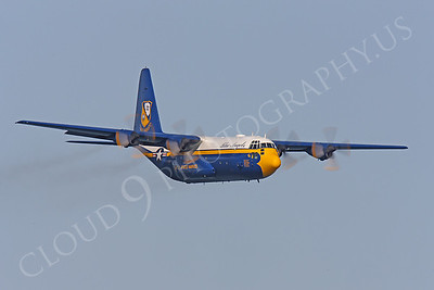 BA - C-130 00030 Lockheed C-130 Hercules USN BLUE ANGELS by Peter J Mancus