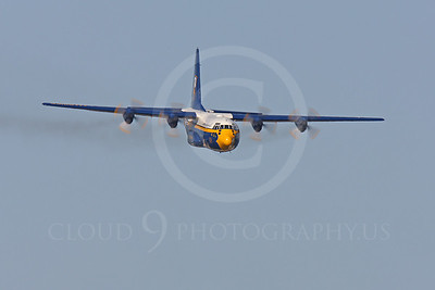 BA - C-130 00014 Lockheed C-130 Hercules USN BLUE ANGELS by Peter J Mancus