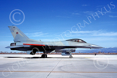 F-16USN 00001 Lockheed Martin F-16 Fighting Falcon US Navy TOPGUN May 1988 by Michael Grove, Sr