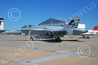 Boeing F-18C-USN 00055 A static Boeing F-18C Hornet USN 163476 STRIKE TEST VX-23 THE SALTY DOGS 10-2004 military airplane picture by David F Brown