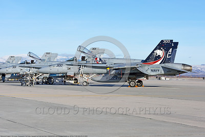 F-18C-USN-VFA-131-0003 A static colorful McDonnell Douglas F-18C Hornet jet fighter USN VFA-131 WILDCATS CAG 165221 USS Dwight D  Eisenhower at NAS Fallon 2015 military airplane picture by Carl E  Porter