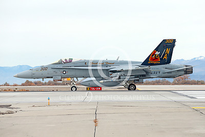 CAG 00051 A colorful McDonnell Douglas F-18C Hornet USN 164257 VFA-113 STINGERS with missiles on NAS Fallon's runway for take-off 11-2013 military airplane picture by Peter J Mancus
