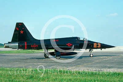 EE-F-5E 00005 Northrop F-5E Freedom Fighter USN VFA-127 June 1991 via AASS