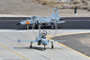 "F-5USN-VFC-13 0003 Two Northrop F-5E Freedom Fighters USN jet fighters VFC-13 ""SAINTS"" taxi off the runway at NAS Fallon 3-2017 military airplane picture by Peter J Mancus     DONEwt"