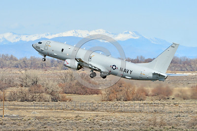 P-8USN 00006 A Boeing P-8 Poseidon USN multi-mission aircraft climbs out after take off at NAS Fallon 3-2017 military airplane picture by Peter J Mancus