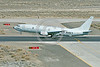 P-8USN 00002 A Boeing P-8 Poseidon USN multi-mission maritime partrol, anti-submarine, anti-shipping and reconnaisance aircraft taking off at NAS Fallon 3-2017 military airplane picture by Peter J  Mancus       DONEwt copy