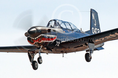 T-34USN 00008 A landing black sharkmouth US Navy Beech T-34C Mentor 0472 NJ code 10-2013 military airplane picture by Peter J Mancus