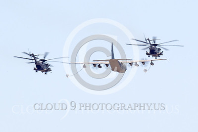 AAR 00120 A USMC Lockheed KC-130 Hercules and two USMC Sikorsky CH-53 Sea Stallion helicopters prepare to aerial refuel airplane picture, by Peter J Mancus