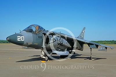 AV-8B-USMC 00007 McDonnell Douglas AV-8B Harrier II USMC #162075 KD July 1992 by via AASS